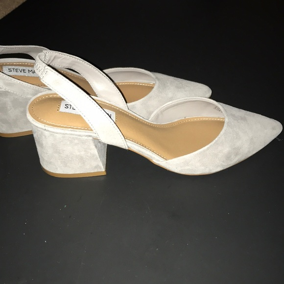 b1c8a24e21 Steve Madden Shoes | Day Grey Suede | Poshmark